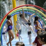 Jeux d'eau Valence Plage à Valence