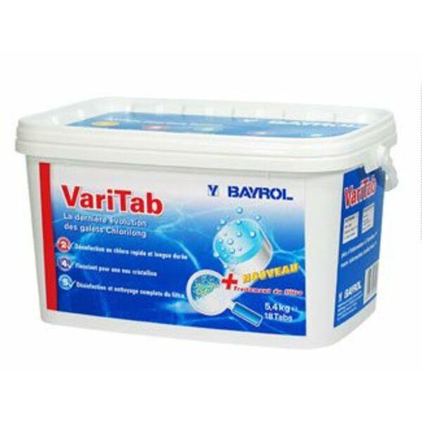 Varitab galet de chlore chlorilong de bayrol - Analyse chlore piscine ...