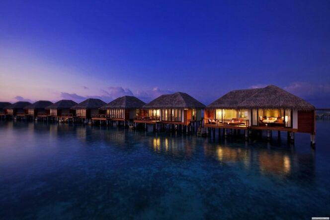 Velassaru Hotel : un hôtel sur pilotis au-dessus de l'océan