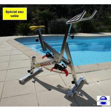 """Vélo aquatique VO2 Max pour eau salée par Aquagyms<span class=""""normal italic petit"""">© Aquagyms</span>"""