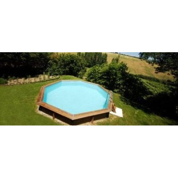 Piscine plastique rigide maison design for Piscine bois occasion