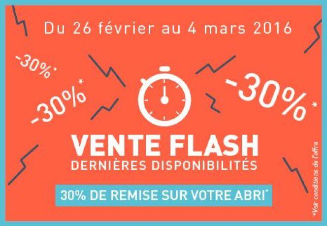 "Vente flash Abridéal<span class=""normal italic petit"">© Abridéal</span>"