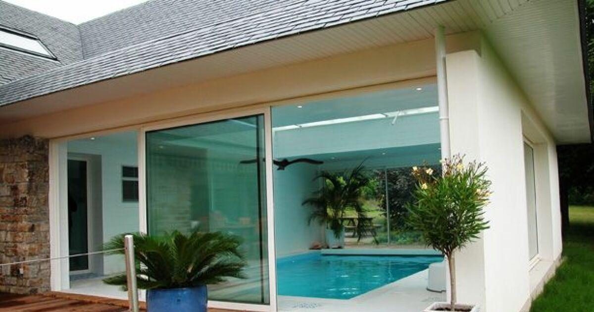 V randa avec piscine for Piscine veranda