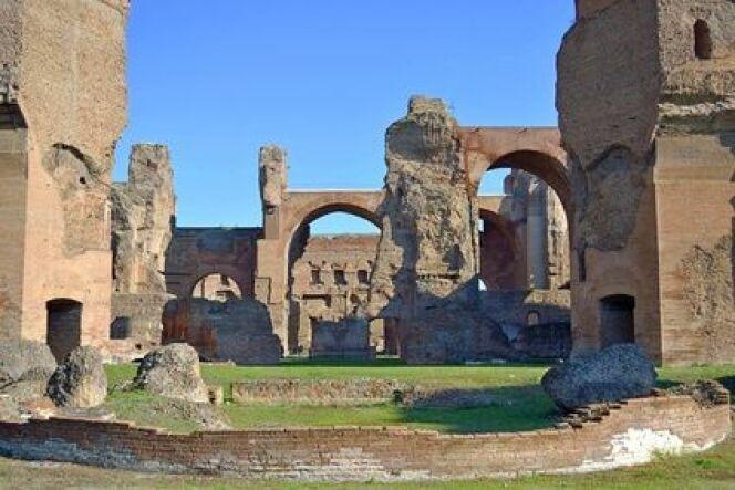 Vestiges des thermes romains de Caracalla