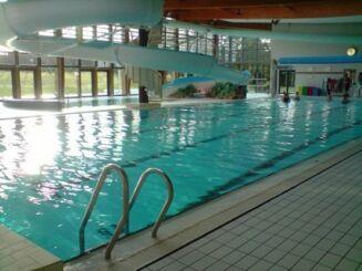 Le grand bassin de la piscine Atlantis