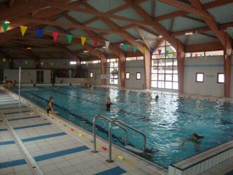 """La piscine de Langogne, idéale pour faire quelques longueurs<span class=""""normal italic petit"""">DR</span>"""