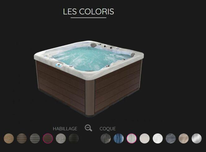 Visualisez votre futur spa en 3D et configurez-le en ligne selon vos envies !