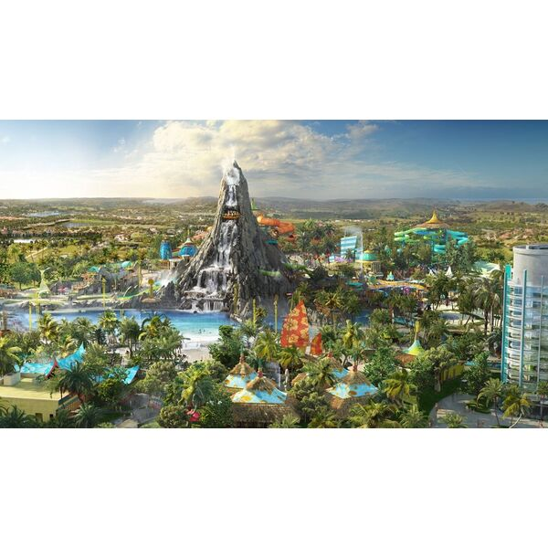 Volcano bay un impressionnant parc aquatique for Pisciniste nantes