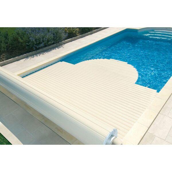 Volet hors d 39 eau nu piscine alimentation secteur open one for Volet piscine abriblue prix