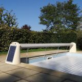 Volet hors-d'eau nu, alimentation solaire Open Solar Energy par Abriblue