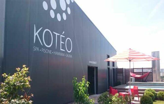 Entrée Show room Kotéo, rue A. Le Harzic, ZA Kervanon, 29610 Plouigneau DR