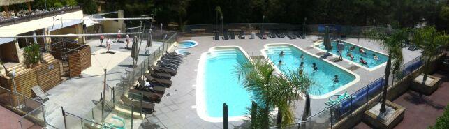 Vue panoramique du Sporting Club Espaces Antipolis