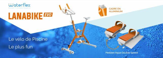 Waterflex : l'aquabike Lanabike Evo