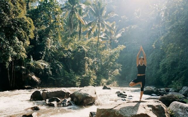 Yoga, randonnée, vélo, rafting, les activités proposées par le Como Shambhala Estate sont multiples
