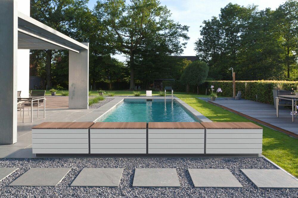 Zen'It, banc de piscine esthétique et fonctionnel par AstralPool© Fluidra