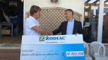 Zodiac reverse 14 450€ à « Un Océan de Vie »