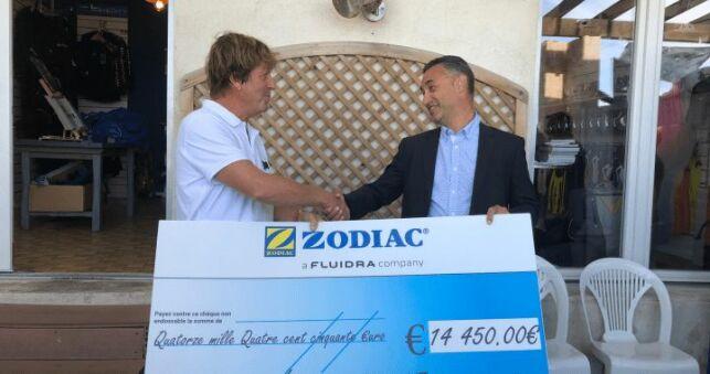 Zodiac reverse 14 500€ à « Un Océan de Vie »