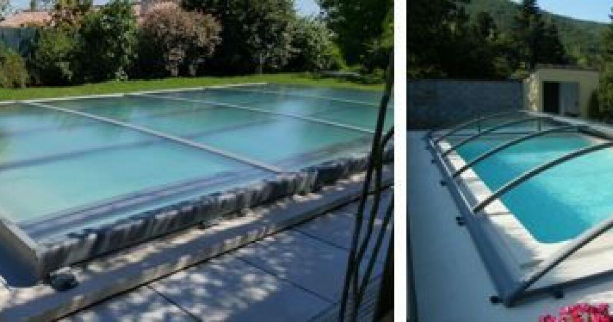 Zoom sur la gamme azenco for Abri piscine azenco