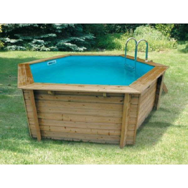 Zoom sur la piscine bois hors sol bahia et bahia first for Barriere de securite piscine hors sol