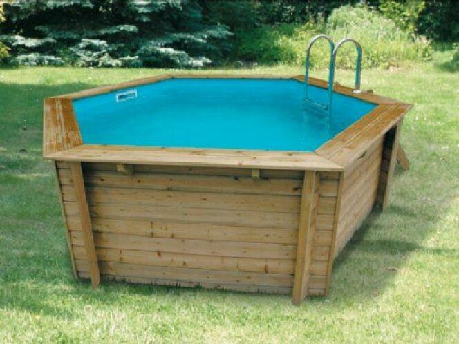zoom sur la piscine bois hors sol bahia et bahia first. Black Bedroom Furniture Sets. Home Design Ideas