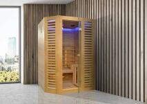 Zoom sur le sauna Venetian Hybrid, par Holl's