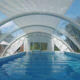 Zoom sur les abris de piscine Techniflex