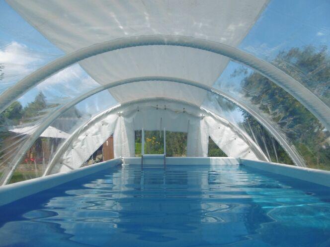 L'abri de piscine Techniflex
