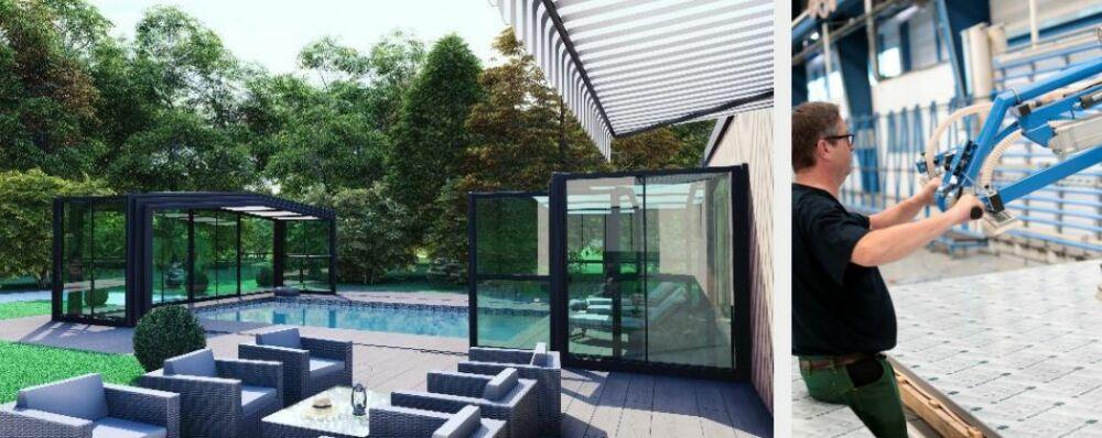 Zoom sur Rénoval Abris : des abris de piscine et de terrasse sur-mesure© Rénoval Abris