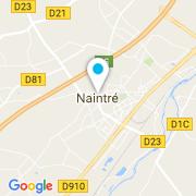 Plan Carte Piscineva (Piscines Caron) à Naintré