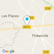 Plan Carte MACA Piscines à Thiberville