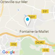 Plan Carte Lagon Présence (Alliance Piscines) à Fontaine la Mallet