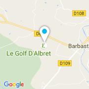 Plan Carte L.C. Piscine (Alliance) à Barbaste