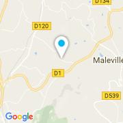 Plan Carte TP Douze (Alliance Piscines) à Maleville