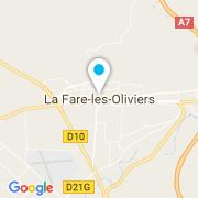 Plan Carte Eden Blue (Alliance Piscines) à La Fare-les-Oliviers