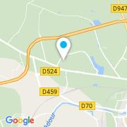 Plan Carte APFM (Aquitaine Piscines Filtration Modernes) à Saint Paul les Dax
