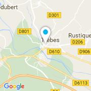 Plan Carte Acco Thierry Et Fils Piscines à Trèbes