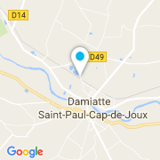 Plan Carte Rossignol Frères Piscines à Damiatte