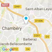 Plan Carte Robin des bulles (Océazur Piscines) à Chambéry