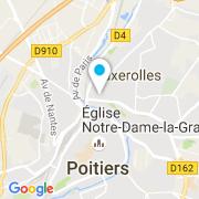 Plan Carte Idek Piscines à Poitiers