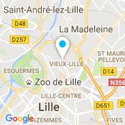 Plan Carte SOS Piscine 59 à Lille