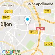 Plan Carte R.E.C Piscines (Rénovation Entretien Construction Piscines) à Dijon