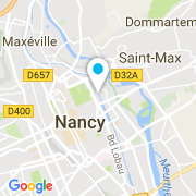 Plan Carte Martin Guillaume à Nancy