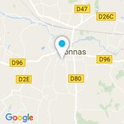 Plan Carte FDC Piscines à Vonnas