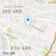 Plan Carte Asbat à Lyon