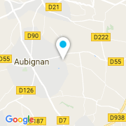 Plan Carte Batidek Construction Piscines à Aubignan