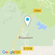 Plan Carte Coulet Michel Piscines à Rousson