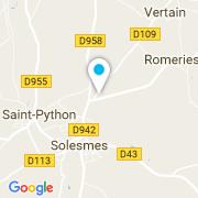 Plan Carte S2O Piscines à Solesmes