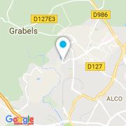 Plan Carte Kachou Ali à Montpellier