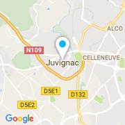 Plan Carte Bleu & Vert Piscines à Juvignac