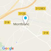 Plan Carte Multi-Services Piscines à Montblanc